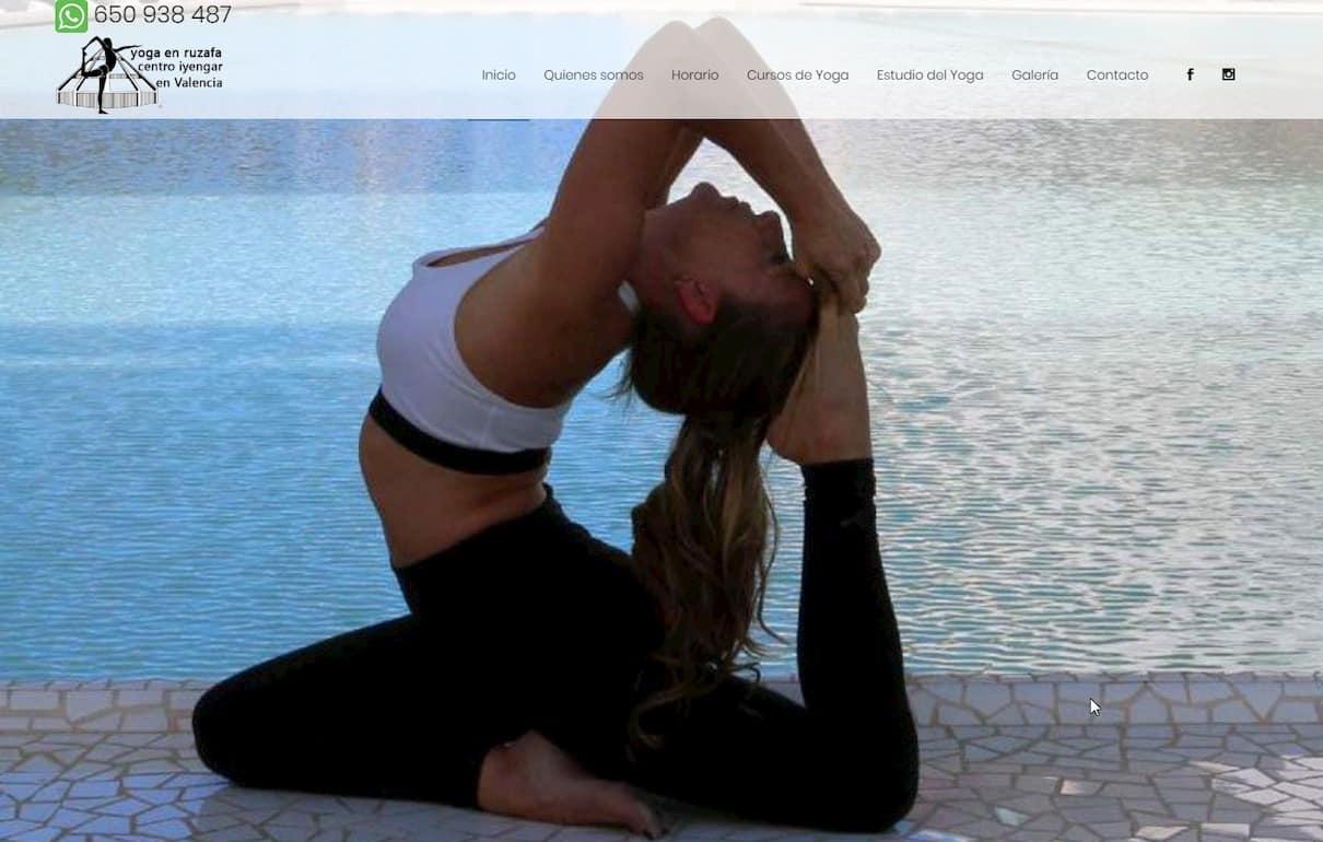 Web de Yoga